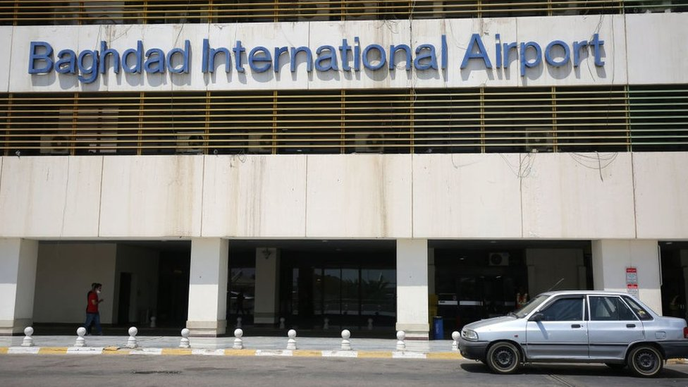 File photo of Baghdad International Airport (July 2020)