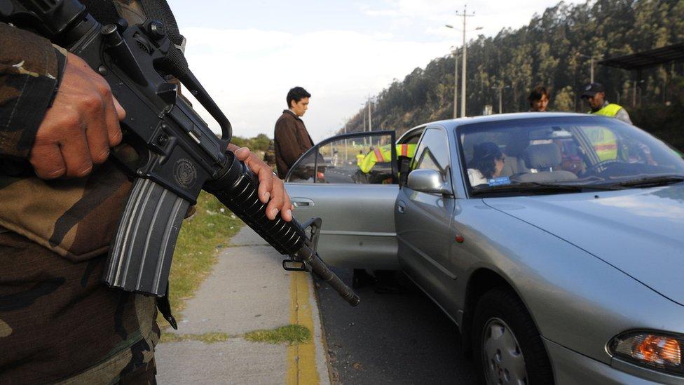 Violencia Ecuador