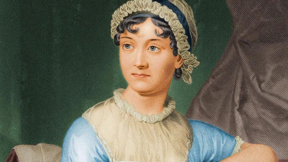 Pintura de Jane Austen.