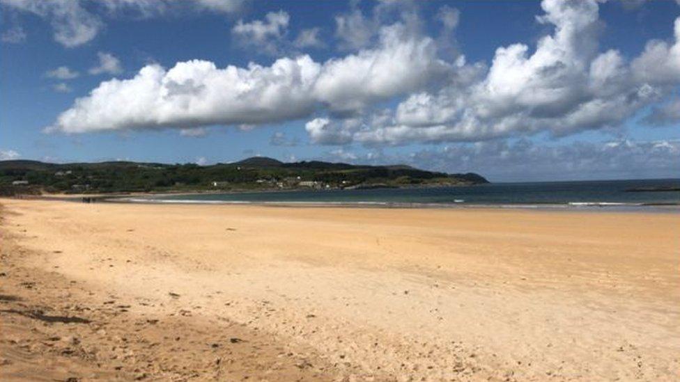 Culdaff beach