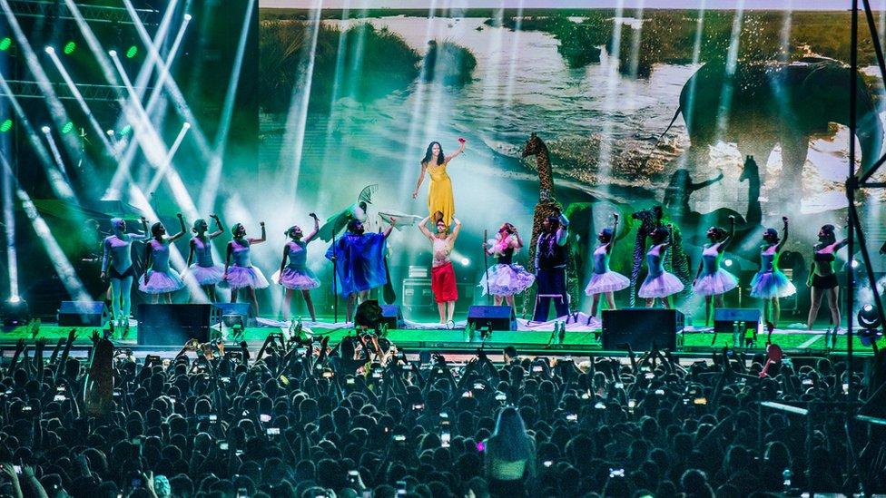 Ekološki performans na početku Egzit festivala