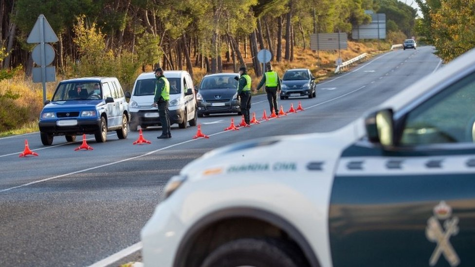 Spain's La Rioja region has been closed off for 15 days