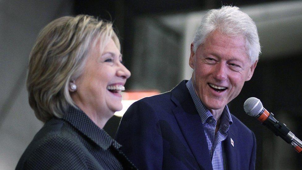 比爾·克林頓和希拉里·克林頓