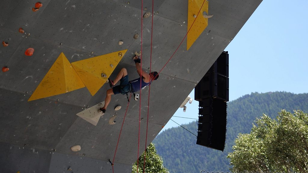 Visually impaired climber 'among world's best'