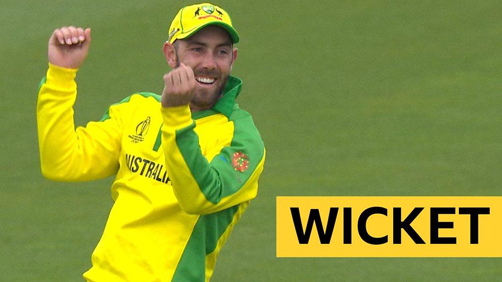 Cricket World Cup: Sri Lanka captain Karunaratne caught by Glenn Maxwell