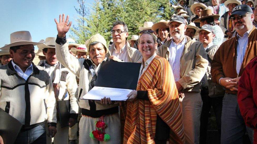 recibiendo el premio de la Unesco, 2014
