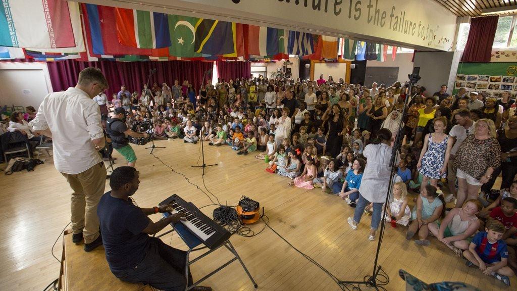 Gareth Malone and the Grenfell Community Choir