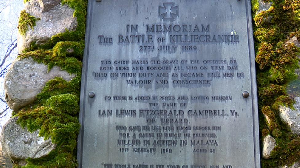 Battle of Killiecrankie memorial