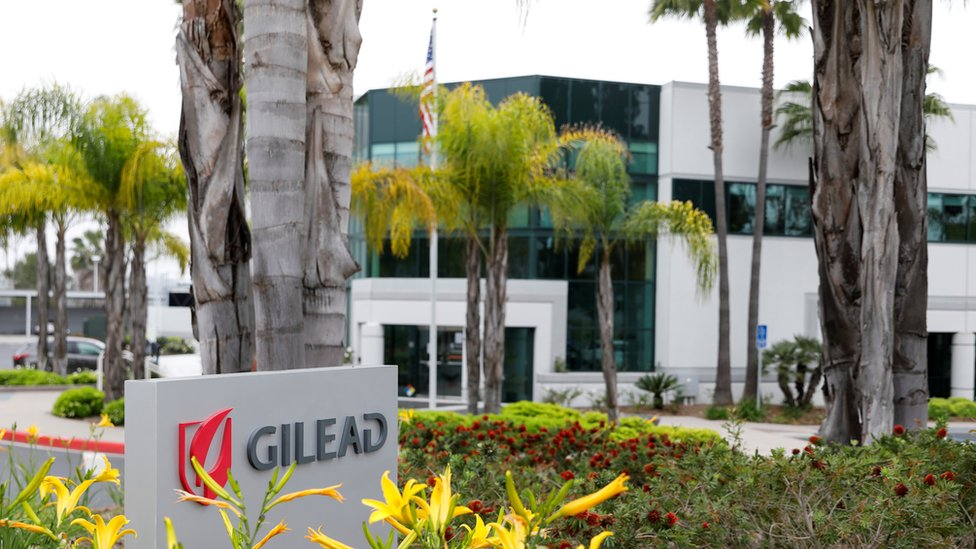 Gilead, the manufacturer of remdesivir