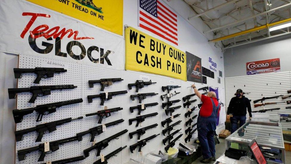 Venta de armas en EE.UU.