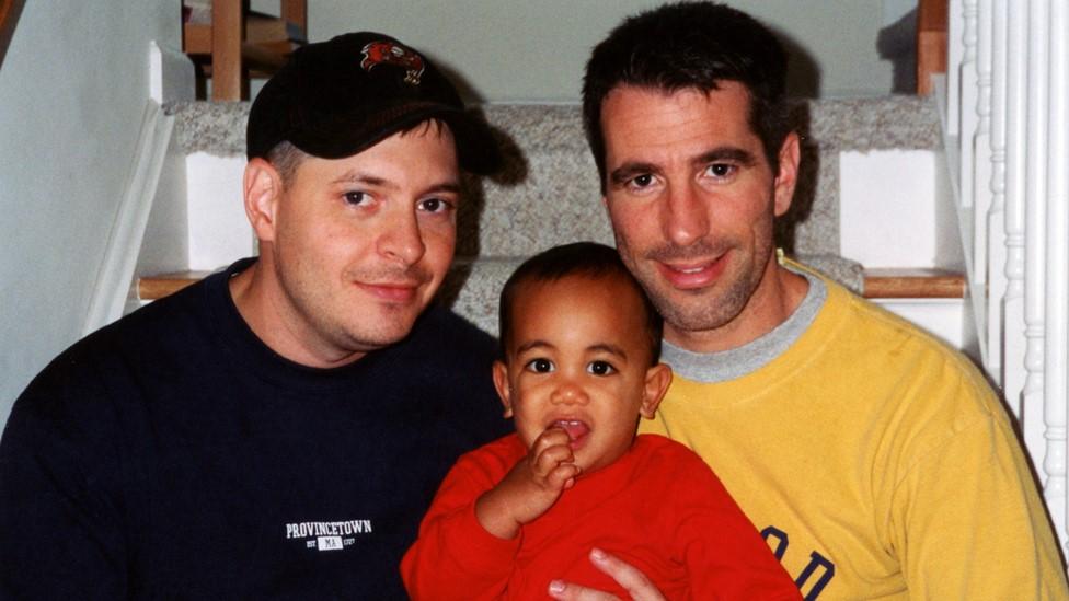 Pete, Kevin y Danny en 2001.