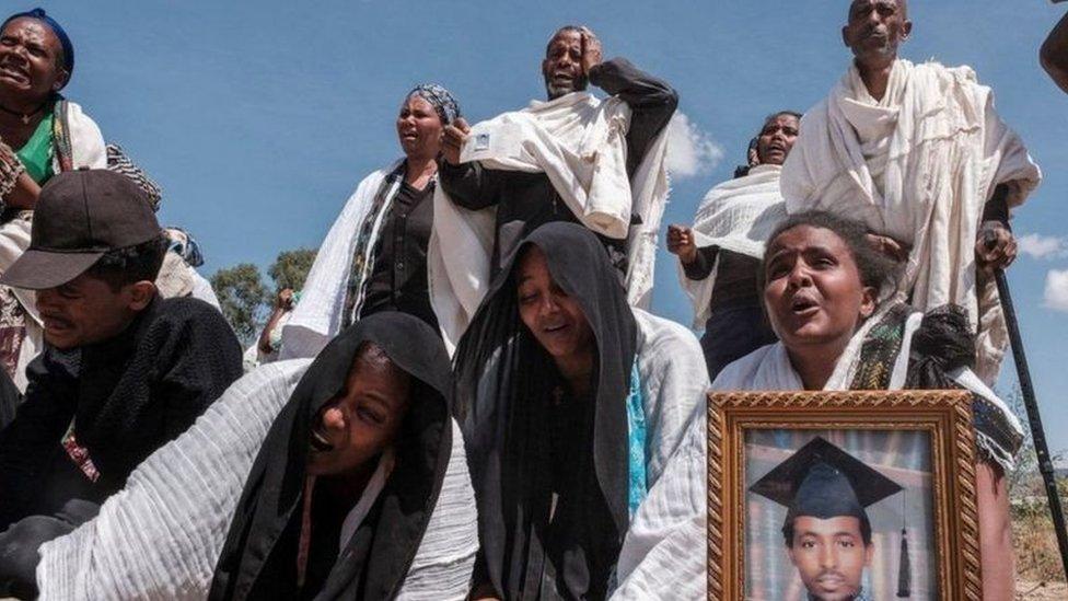 أهالي ضحايا في تيغراي