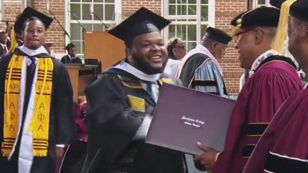 Robert F Smith: Morehouse College student on having loan wiped