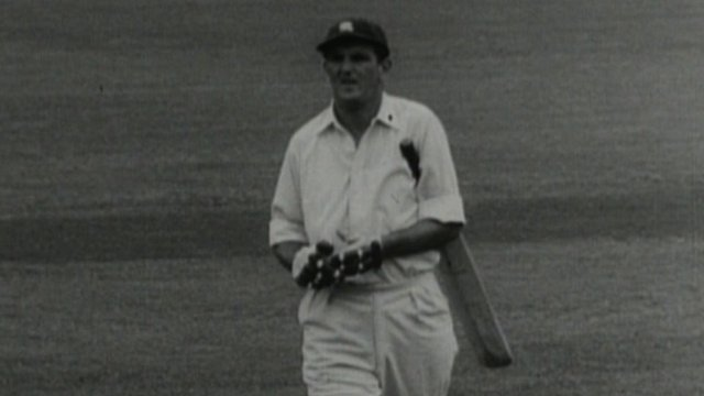 Former England cricketer Tom Graveney