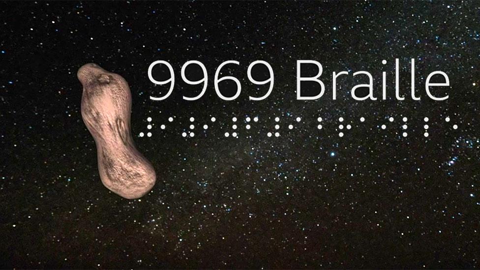 Asteroide con el nombre de Braille