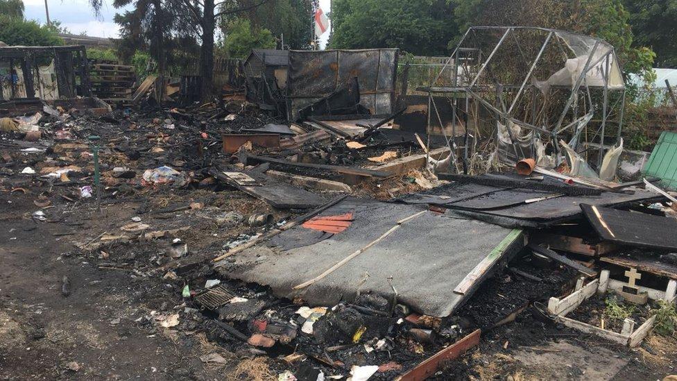 Barnsley arson attack kills dozens of doves