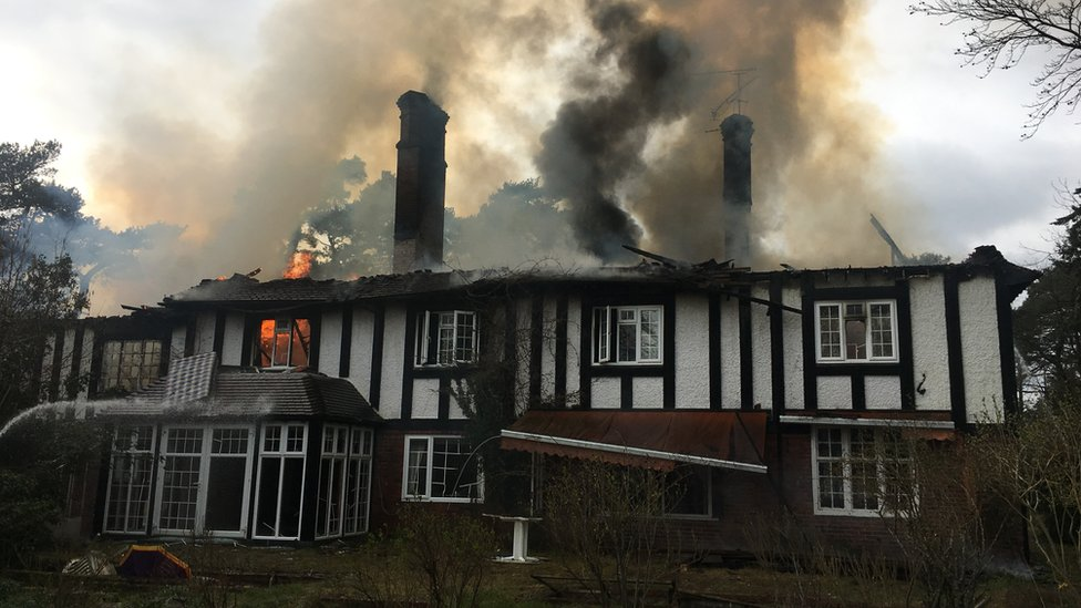Arson attack on Henley-on-Thames house