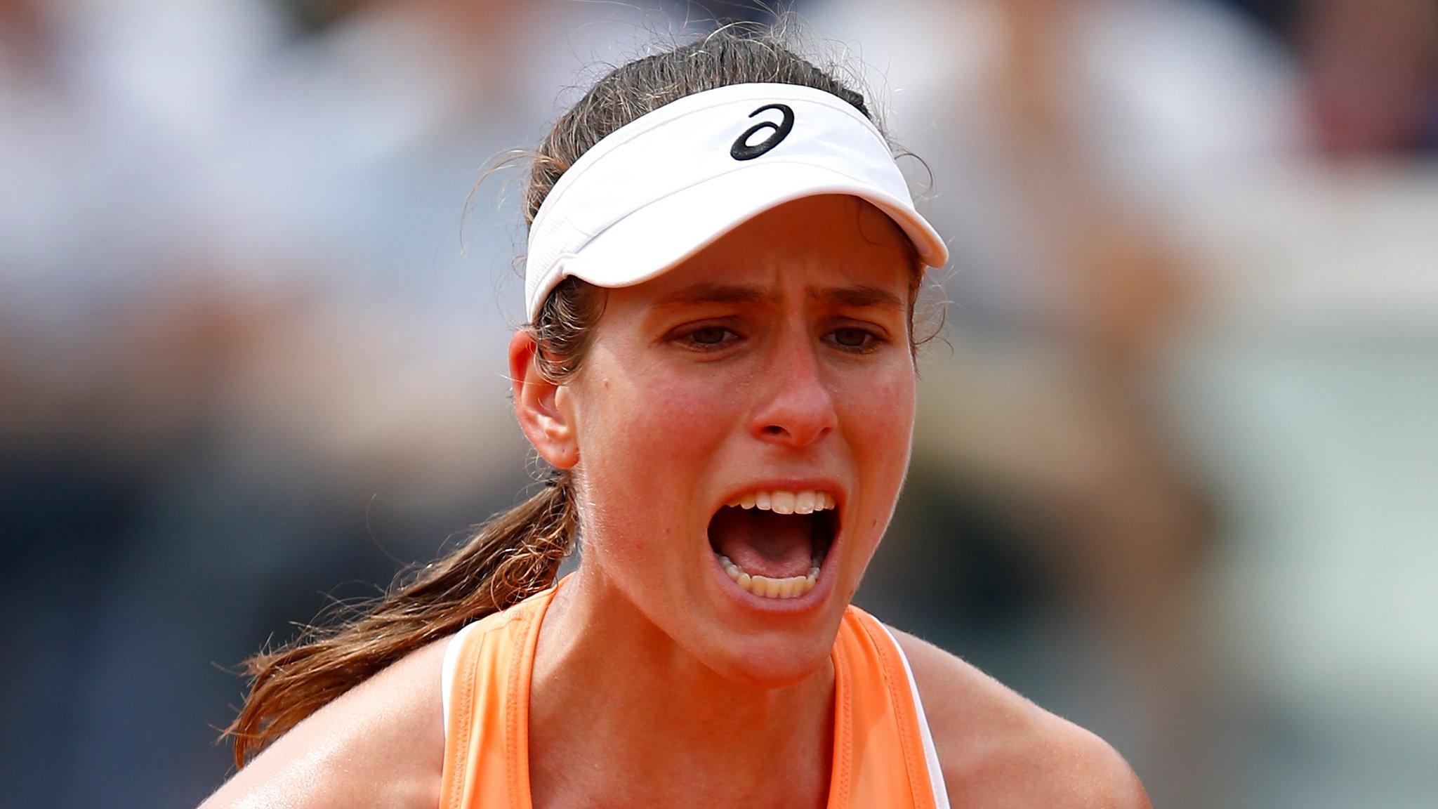 Italian Open: Johanna Konta beats Hsieh Su-wei to set up meeting with Jelena Ostapenko