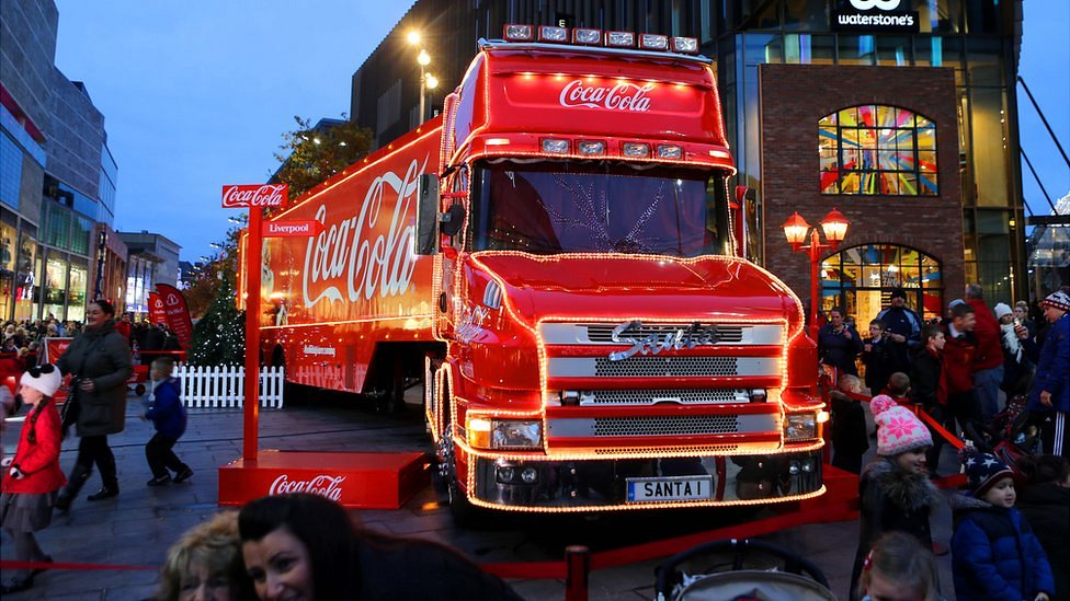 Remembrance Day: Coca-Cola truck Exeter visit criticised