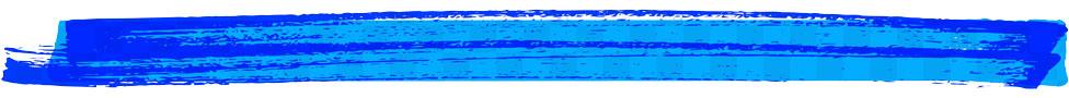 línea marcador azul