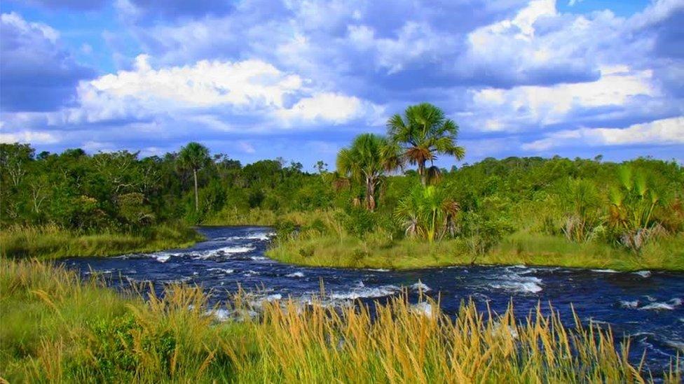 Rio Formoso, no Cerrado goiano