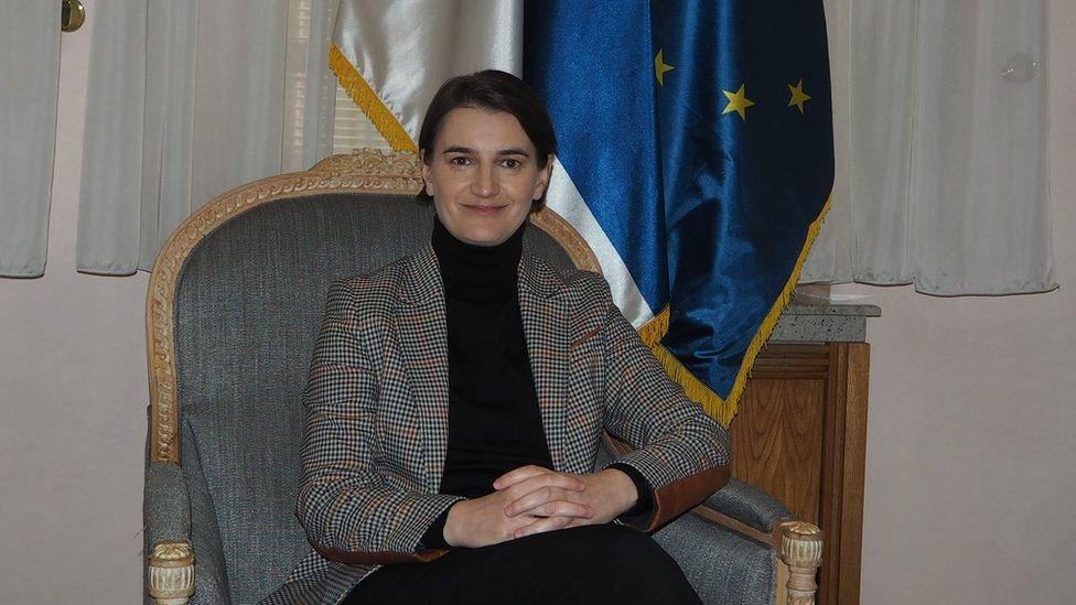 Ana Brnabić, Prime Minister of Serbia