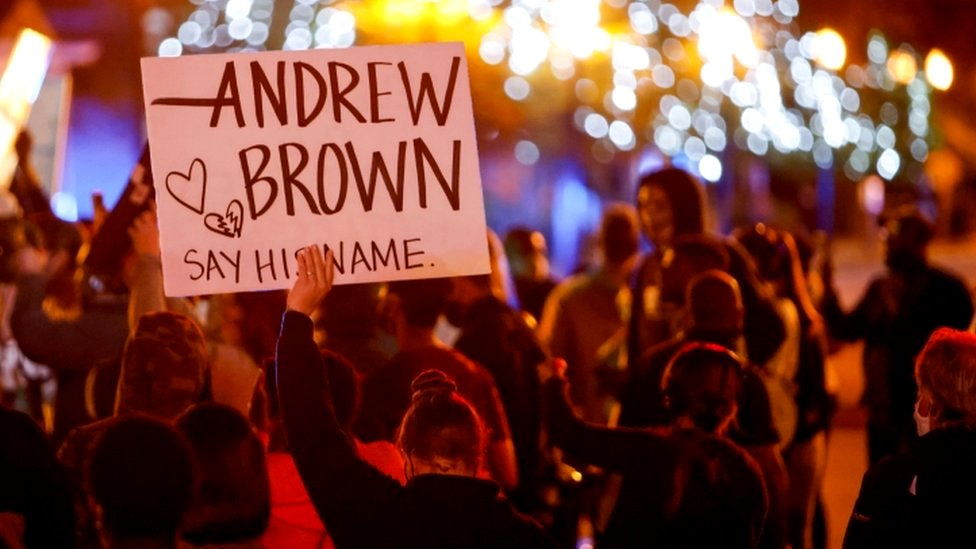Andrew Brown Family Of Black Man Shot By Us Police Demand More Footage Bbc News