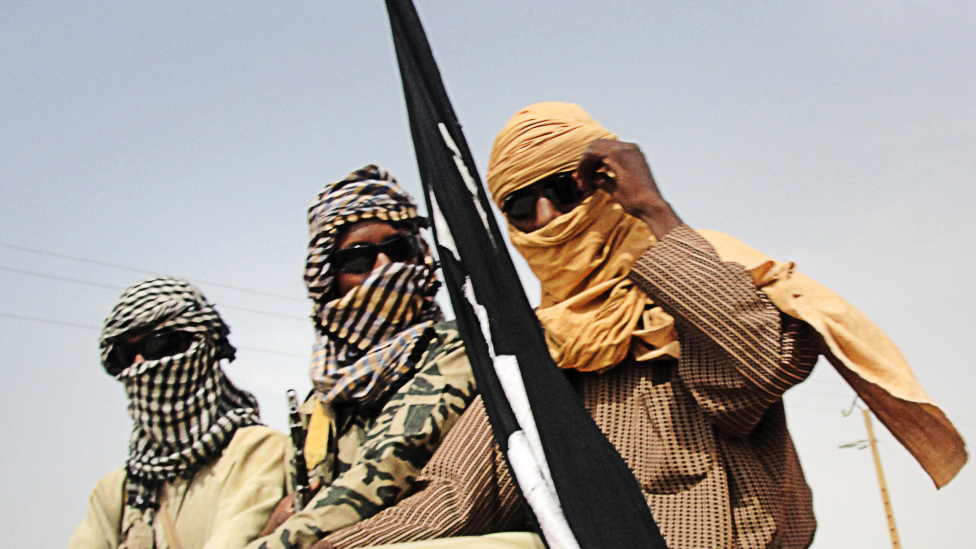 Islamist fighters in Gao, Mali - 2012