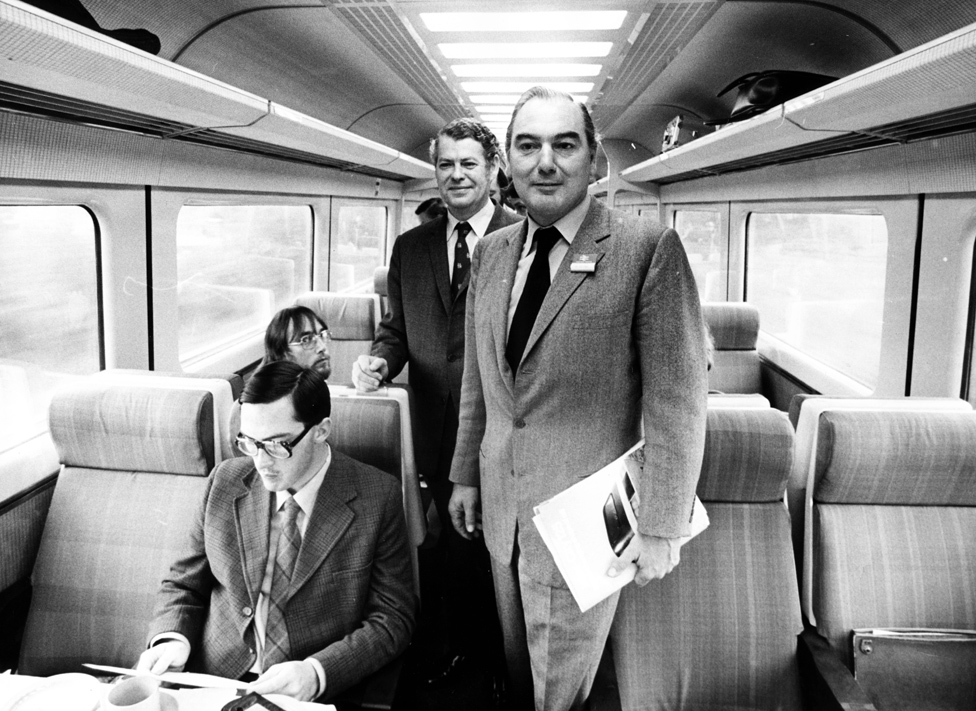 Peter Parker when he took over as chairman of British Rail