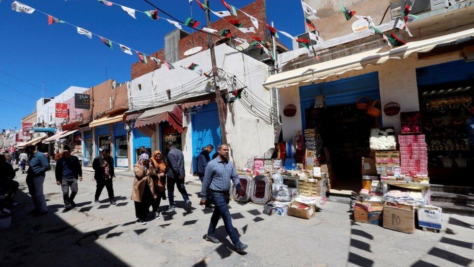 سوق فى طرابلس