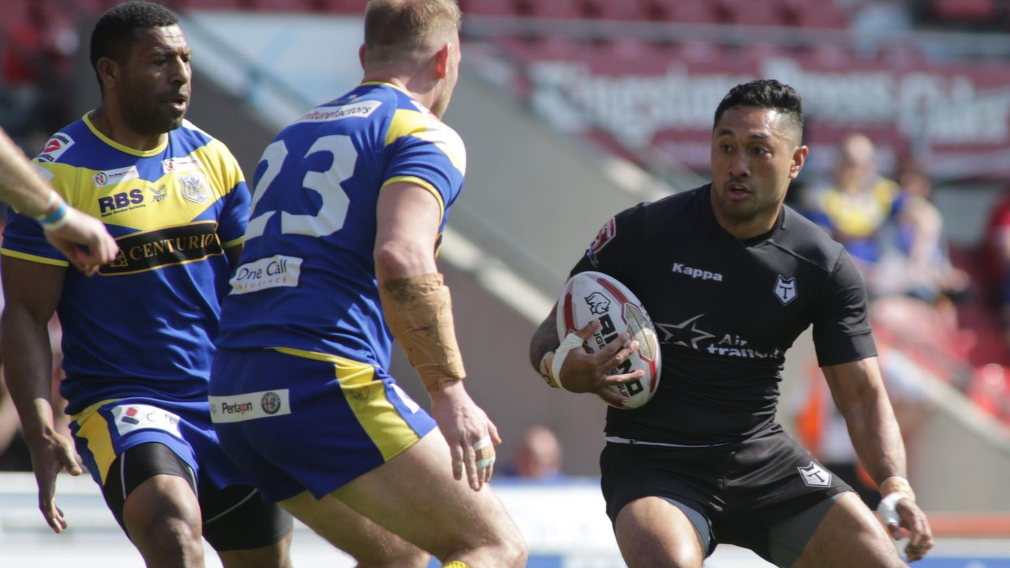Toronto Wolfpack's Quentin Laulu-Togaga'e