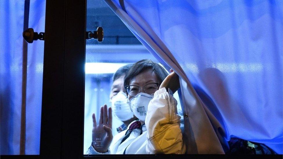 السفينة السياحية خضعت للحجر الصحي بعد اكتشاف إصابة شخص كان على متنها بفيروس كورونا