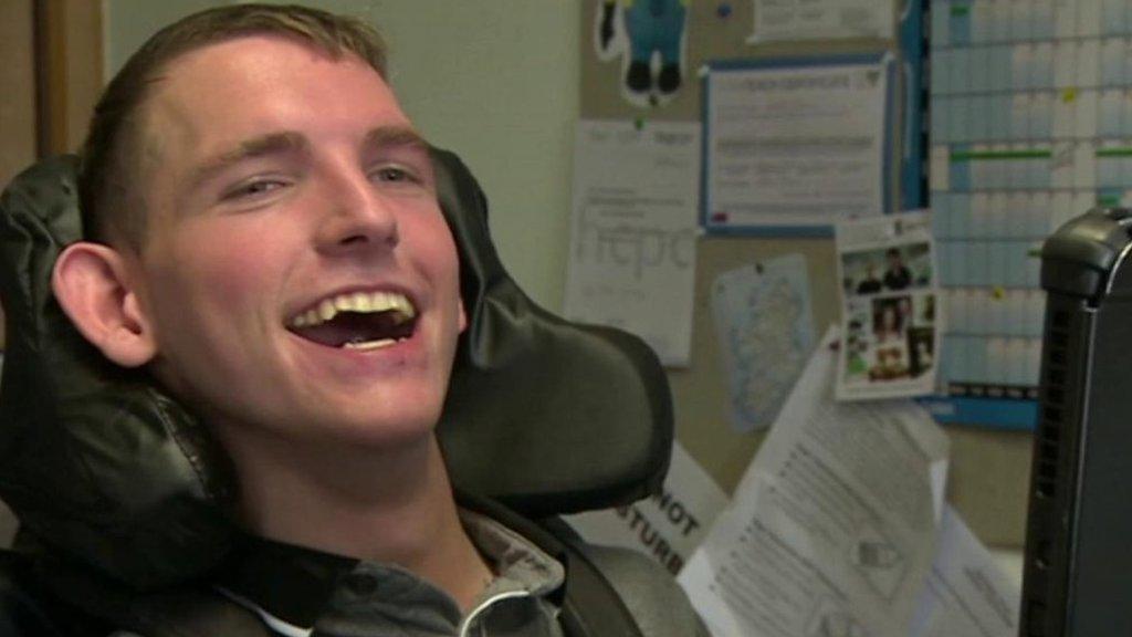 Disabled students 'honoured' attending Stephen Hawking memorial