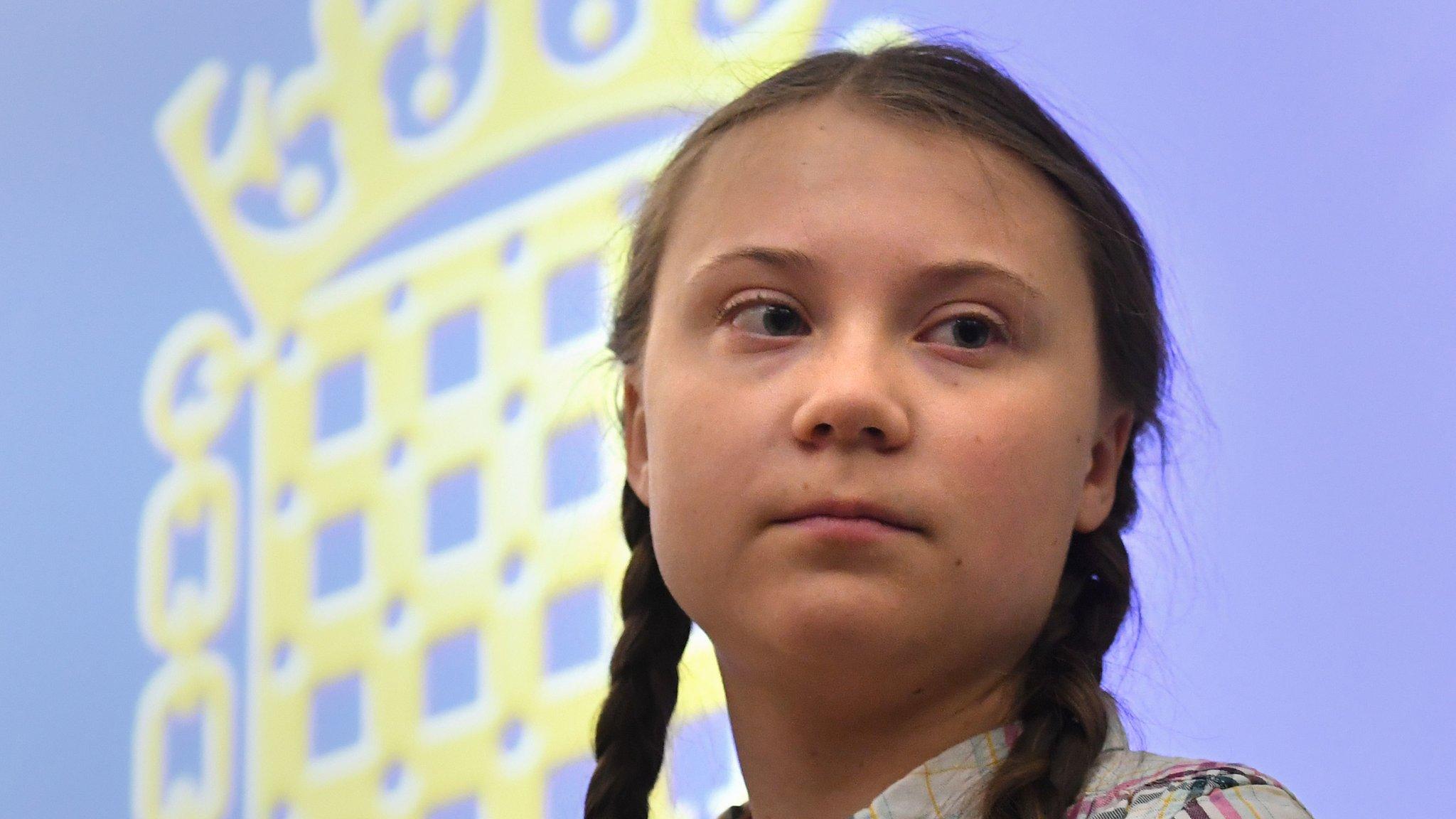 Greta Thunberg: Teen activist says future has been stolen