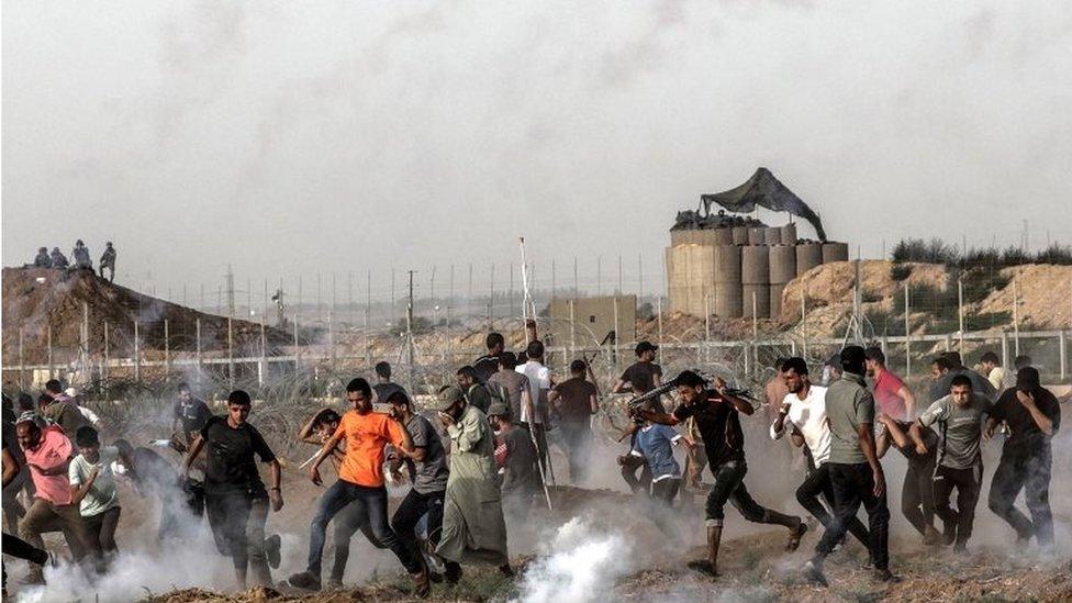 Palestinian border protest (25/05/18)