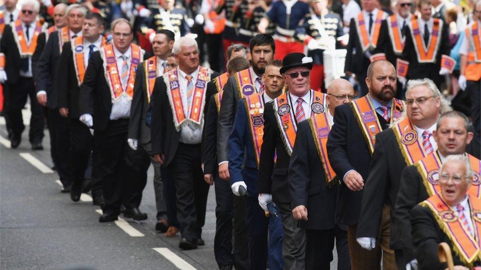 Orange Walk called off after Glasgow Priest attack