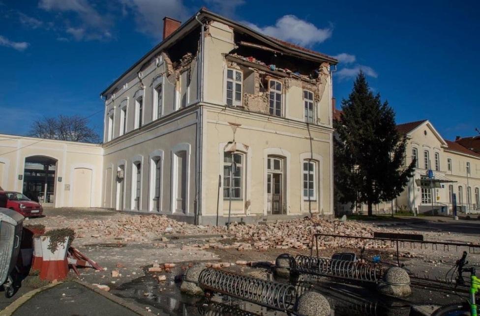 Sisak, zemljotres