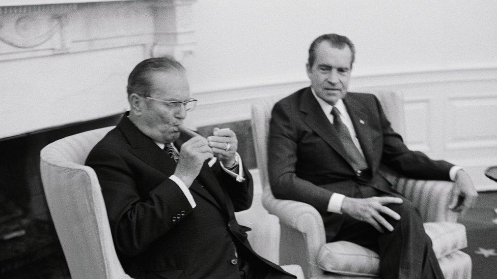 Tito i Ričard Nikson