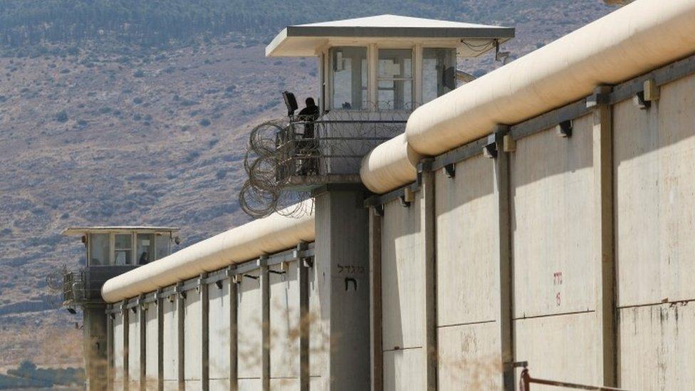 Zatvor Gilboa iz kog su Palestinci pobegli