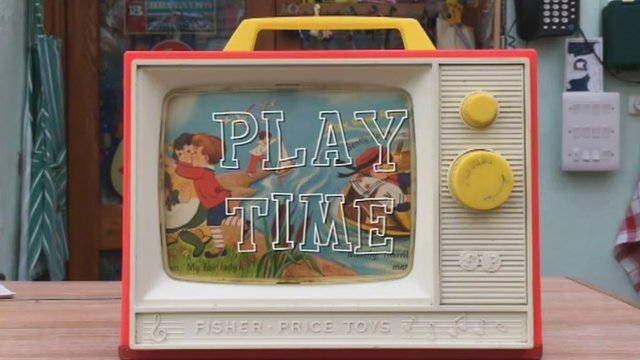A Fisher-Price toy made in Merthyr