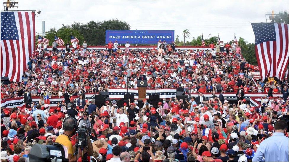 تجمع داعم لترامب في فلوريدا