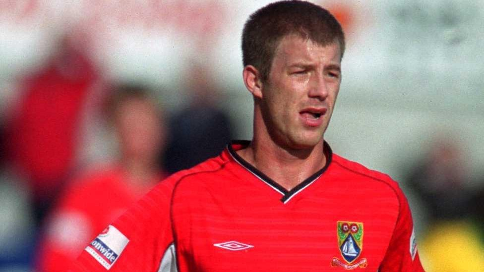 Steve Walters while playing for Morecambe