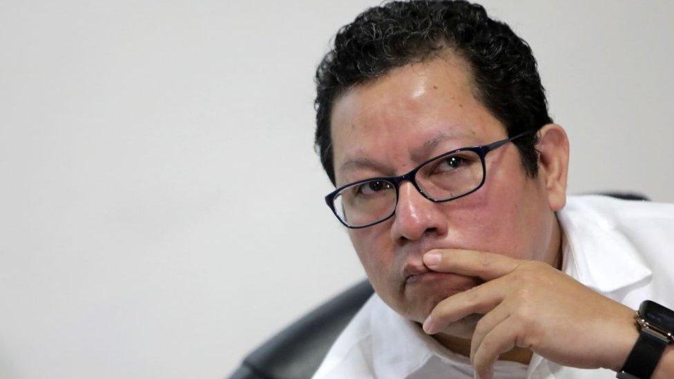 Miguel Mora en 2019.