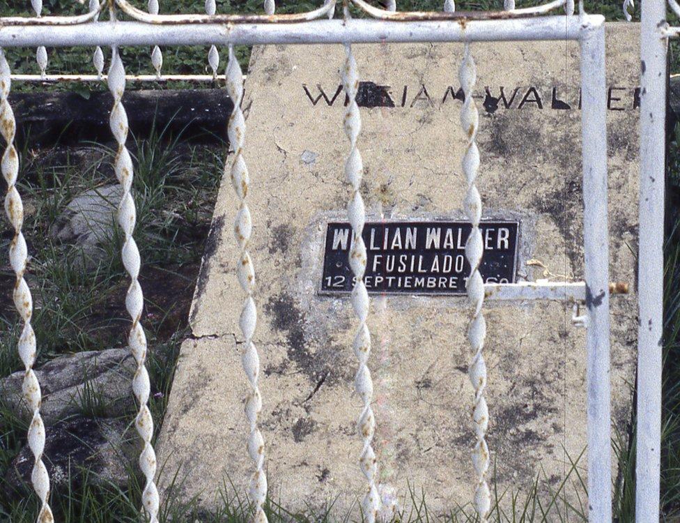 Walker fue ejecutado en Trujillo, Honduras, donde se encuentra su tumba.