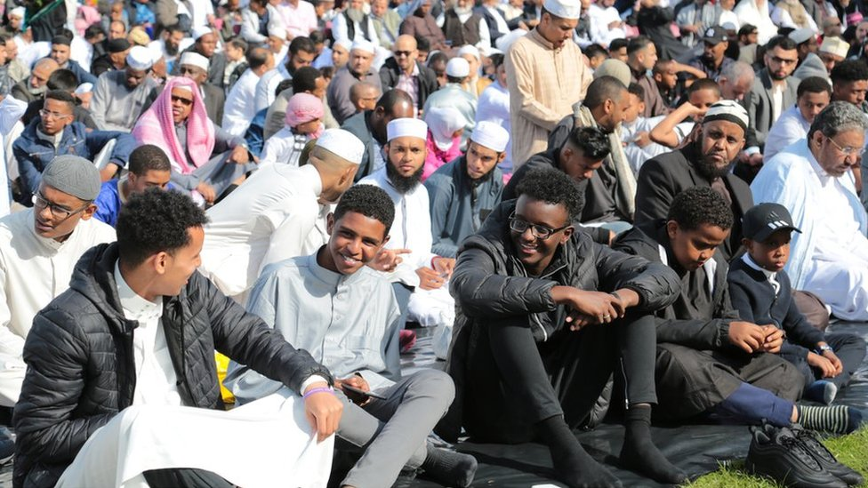 Record-breaking crowds at Europe's largest Eid celebration