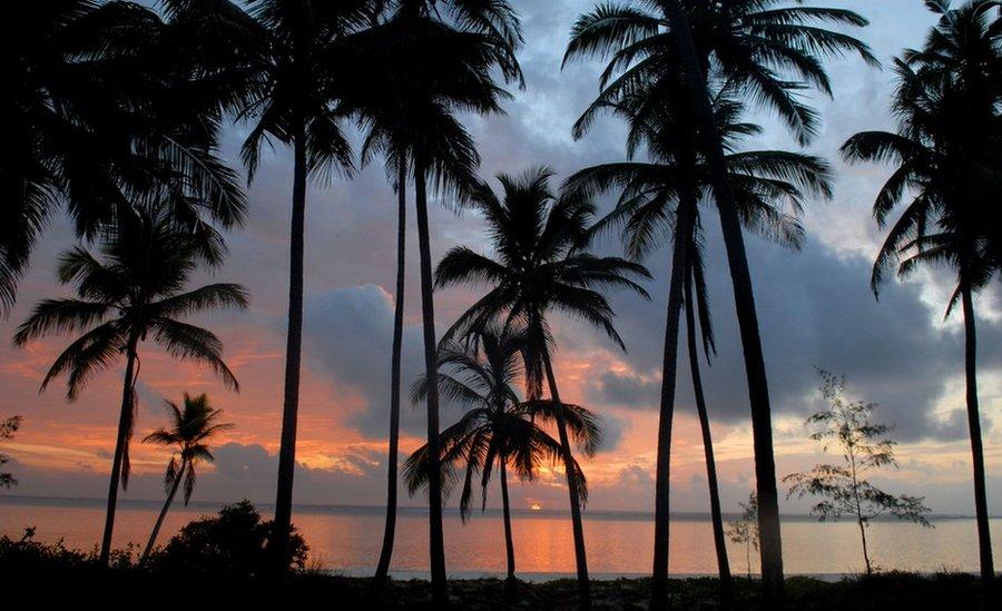 Zalazak sunca na Zanzibaru