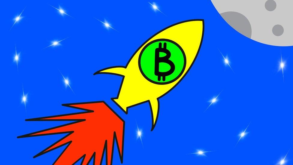 Ilustración bitcoin