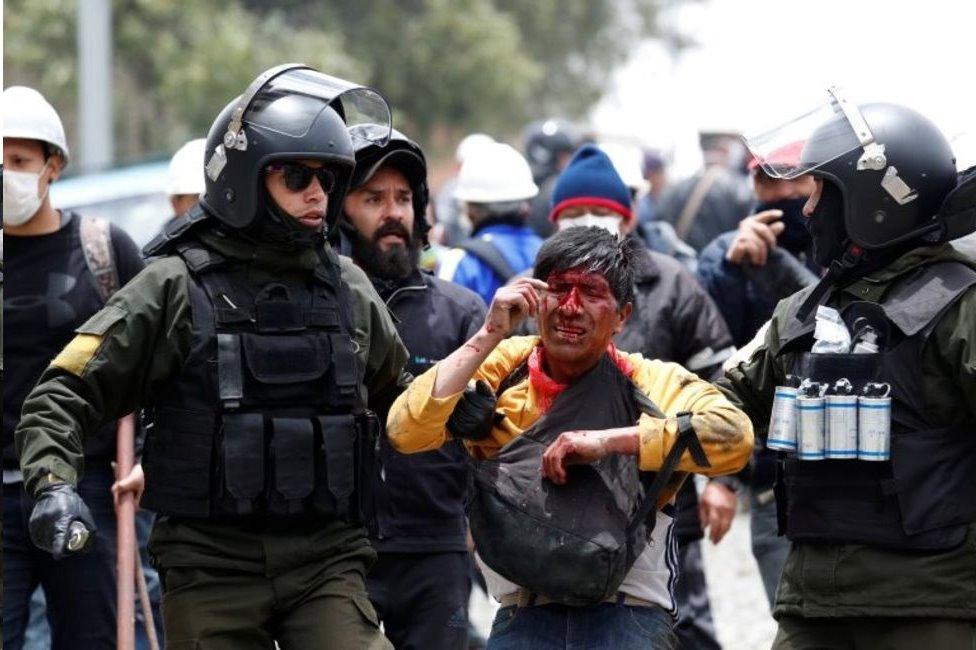Bolivia protestas