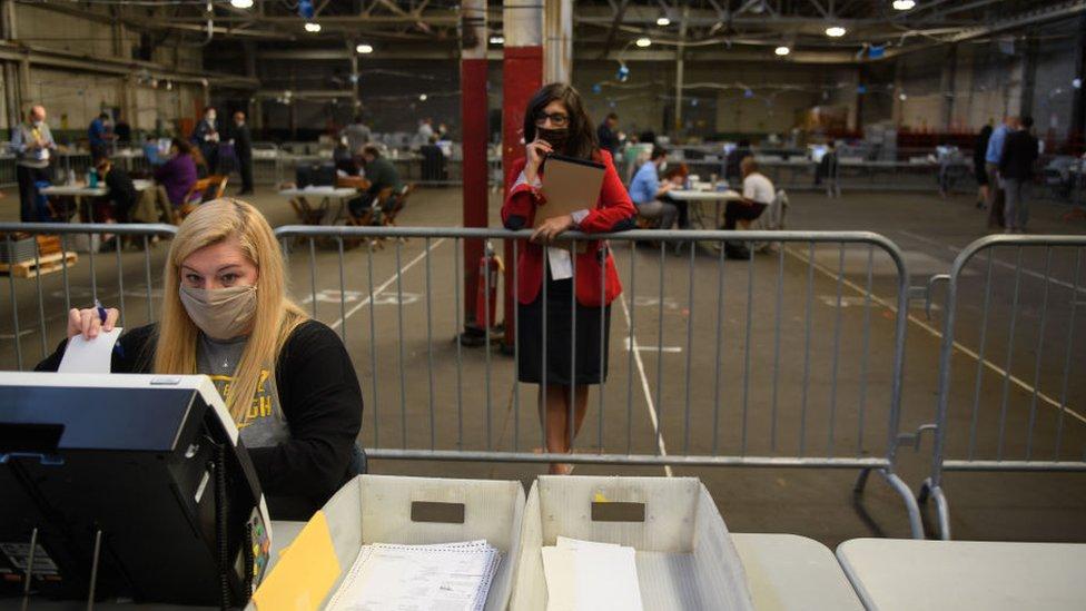 Poll watcher