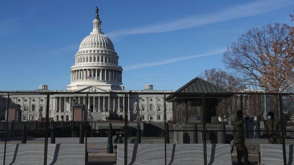 تشديد الأمن حول مقر الكونغرس
